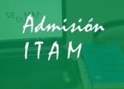 Curso para acreditar el examen de admisiÓn al itam