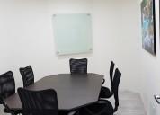 Rento oficina virtual con servicios.