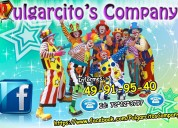 Show de payasos en nezahualcoyotl