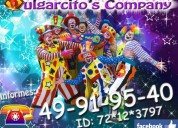 Payasos para fiestas infantiles en nezahualcoyotl
