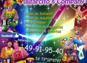 Show de payasos infantil y para adultos en metepec