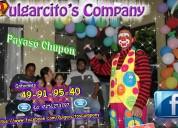 Show de payasos infantil en melchor ocampo