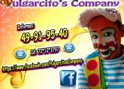 show infantil de payasos en texcoco