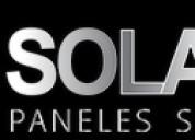 Paneles solares yucatan