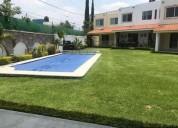 Se renta casa amueblada en jiutepec centro con alberca y vigilancia c 3 dormitorios 122 m2