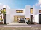 Casas en venta en gran privada cholul en lunare modelo bellavista 3 dormitorios 297 m2