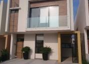 casa residencial en fraccionamiento lomas de la rioja 3 dormitorios 160 m2