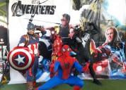 show de superheroes avengers en puebla