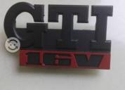 Emblema gti 16v