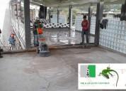 Desbaste de pisos de concreto