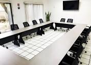 Sala de juntas para capacitaciones, reuniones, etc