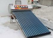 Calentador solar solaris acero inoxidable