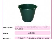Cubeta de plástico  diferentes capacidades fabrica