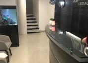 Oficina renta moll del valle area nueva en san pedro garza garcía