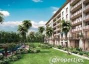 Departamento residencial kaanali en venta puerto cancun 3 dormitorios