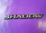 "Emblema ""shadow"" para autos shadow"