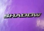 "Emblema ""shadow"" para autos shadow"