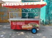 Carro de hamburguesas