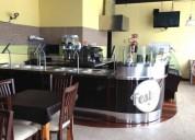 traspaso de restaurante cafeteria en centro 135 m² m2