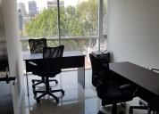 Oficinas amuebladas en la cdmx con servicios