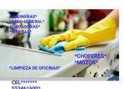 Limpieza sirvientas confiables