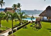 Renta amueblado equipado playa manzanillo 3 dormitorios