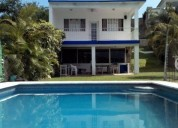 Casa vista a lago mesa de billar 15p 4 dormitorios