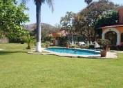 Hacienda con jardin para eventos en cuernavaca