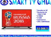 "smart tv ghia de 32"""