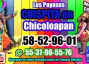 Concursos payasos diversiÓn en chicoloapan
