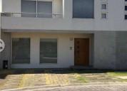 Renta casa condominio metepec 3 rec con bano 3 dormitorios 220 m² m2