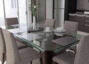 Departamento loft de lujoinc todos servicios 1 dormitorios 120 m² m2