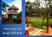 Terreno en el caribe mahahual quintana roo 500.000 m² m2