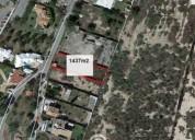 Terreno en venta al norte 1.437 m² m2