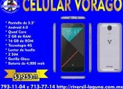 Celular vorago cell-500 plata