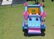 Renta de brincolin princesas en el 15