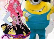Payasos con minions para fiestas infantiles