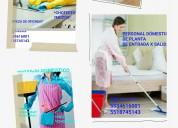 Personal doméstico confiable y garantizado