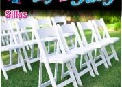 Renta de sillas tiffany en puebla