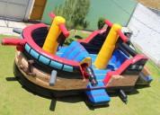 Renta de brincolin barco en el 15