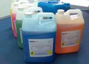 Solución química ssd para notas de limpieza