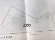 Terreno comercial en venta ideal para plaza de servicios 40000 m2