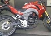 Honda cb 190 roja en iztacalco