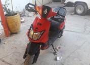 Moto ws 150 roja en tlaquepaque
