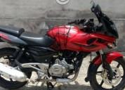 Motocicleta pulsar roja en jiutepec