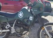 Kawasaki klr 650 en solidaridad