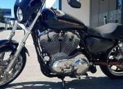 Harley davidson sportster super low 883 como nueva en huixquilucan