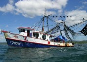 2 barcos camaroneros con permiso para explotacion en cosamaloapan de carpio