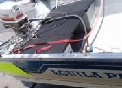 Lancha 14 pies motor jhonson en guadalajara