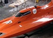 Embarcacion de carreras tunel en benito juárez
